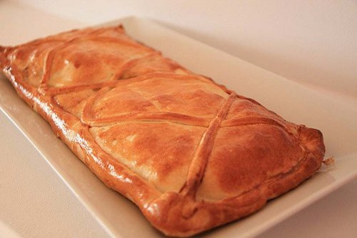 Empanada gallega de pulpo