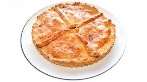 Empanada gallega de zamburiñas